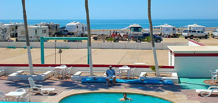 The pool at El Golfo Resort | El Golfo Beach RV Resort