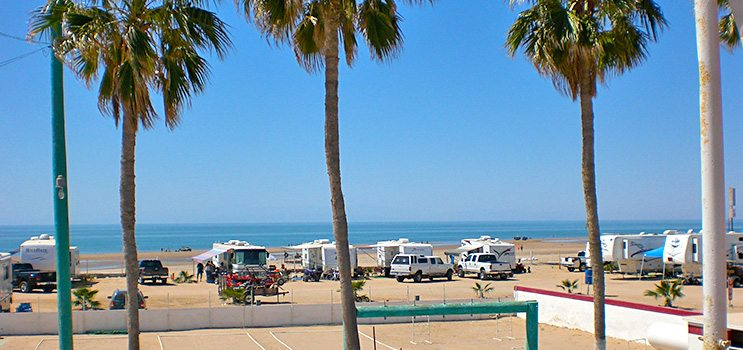 Oceanfront Views | El Golfo Beach RV Resort