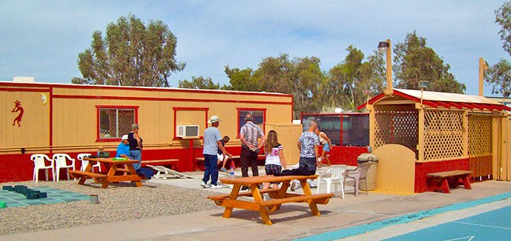 Shuffleboard Games | Lake Havasu RV Resort
