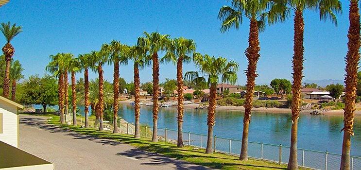 Northshore RV Resort in Needles California | Colorado River