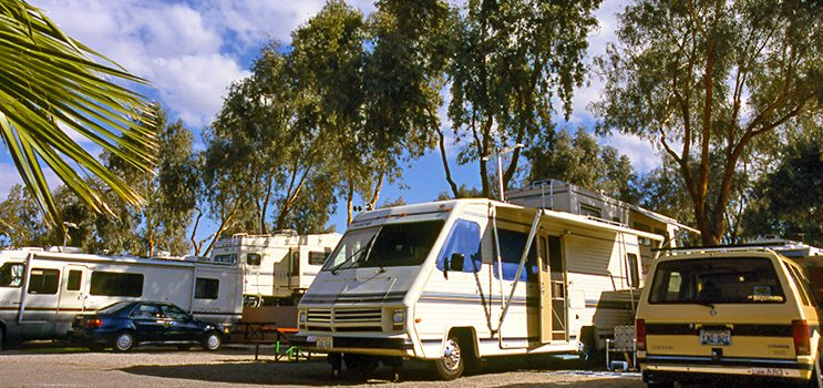 Full Hook Up RV sites at Northshore RV Resort
